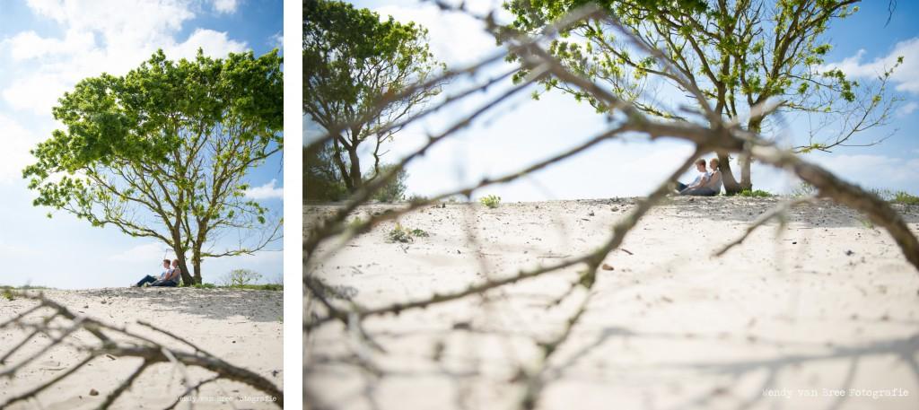 Fotoshoot duinen